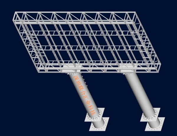 适用于简易箱体  4)敞开式维护通道:适用于标准箱体 钢结构制作全过程